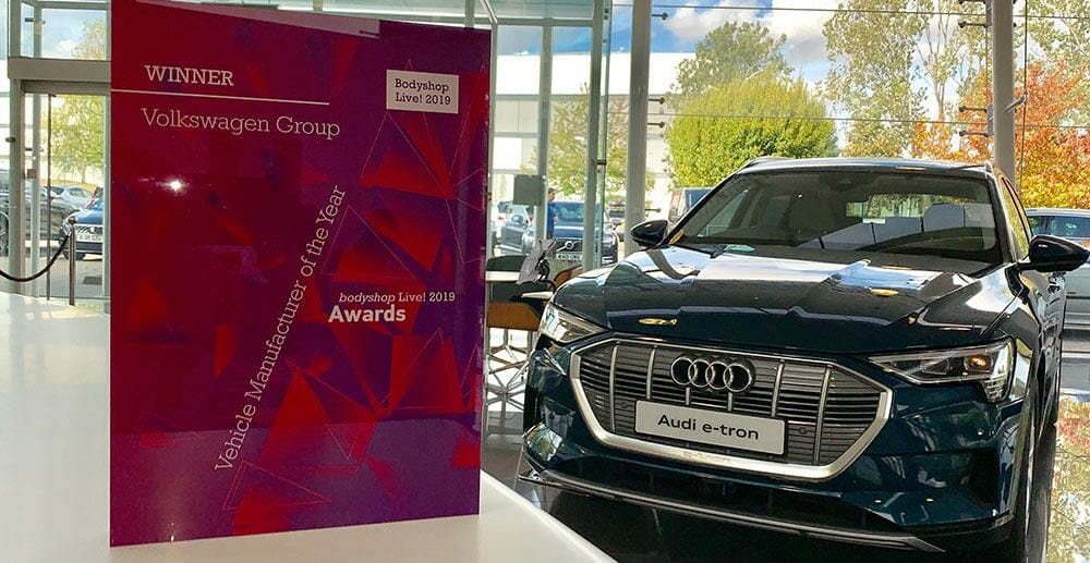 Double top to Volkswagen Group at Bodyshop Live 2019